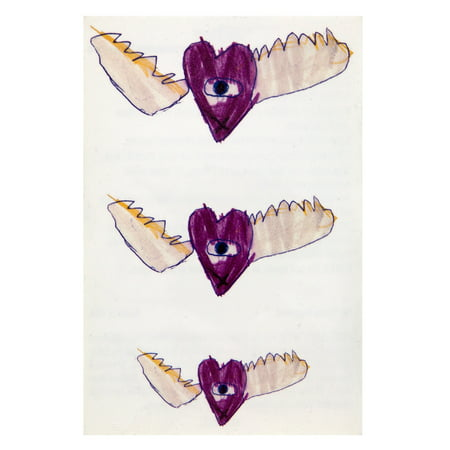 The Cure - Heart Wings Temporary Tattoos
