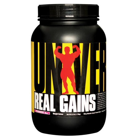 - Universal Nutrition Real Gains Strawberry, 3.8 Lbs