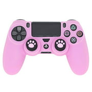 PS4 Controller Skin, BRHE DualShock 4 Grip Anti-Slip Silicone Cover Protector Case for Sony Playstation 4/PS4 Slim/PS4 Pro Wi