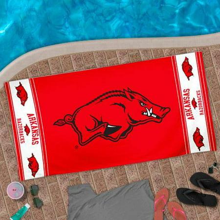 Arkansas Razorbacks WinCraft Big Logo Beach Towel - No Size