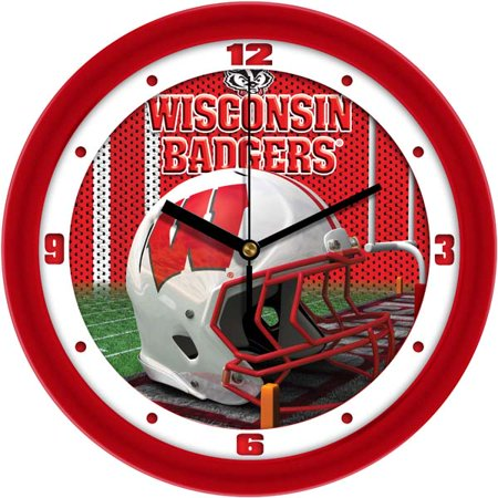 - Wisconsin Helmet Wall Clock