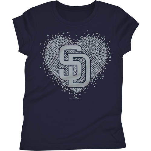 San Diego Padres Girls Short Sleeve Graphic Tee