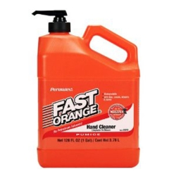 FAST ORANGE HAND CLEANER, WITH FINE PUMICE, SOLVEN