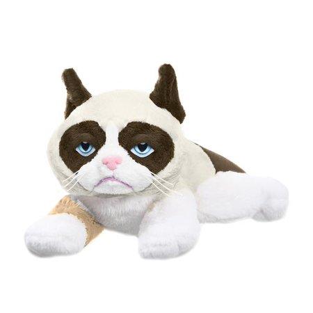 Laying Grumpy Cat Plush](Grumpy Cat Stuffed Animal)