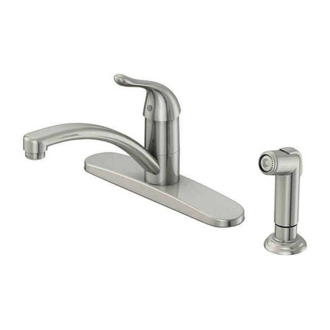 Oakbrook FS6A0087ND-ACA1 Pacifica Series Brushed Nickel Kitchen Faucet Matching Side Spray - image 1 de 1