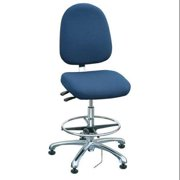 "Bevco Ergonomic Chair Fabric Back Height 19"" Navy, 9351L-E NAVY FABRIC"