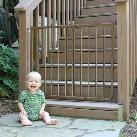 Cardinal Gates Stairway Special Outdoor Child Safety (Best Electric Gate System)