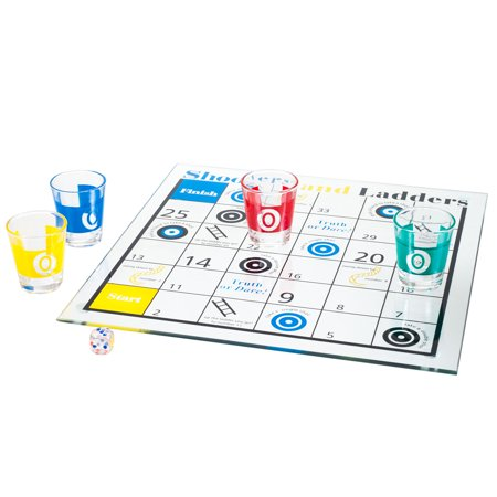 Shooters & Ladders Drinking Game Set (Best Single Shooter Games)