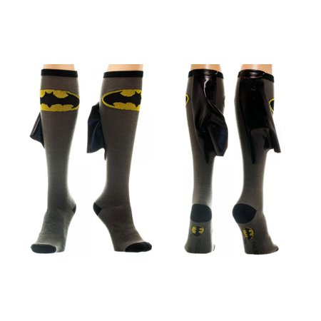 Batman Cape Knee High Socks (Batman Thigh High Socks)