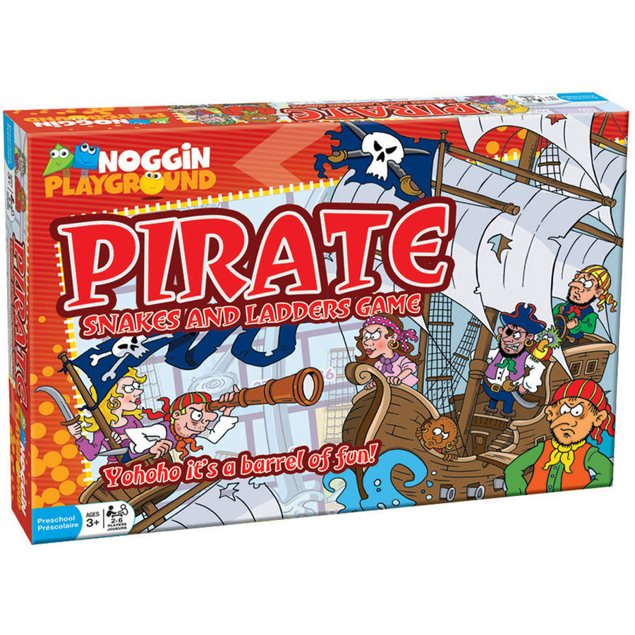 Noggin Playground Pirate Snakes and Ladders Game by Noggin Playground