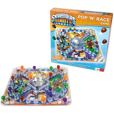 Pressman Toy Skylanders Giants Pop 'N' Race Game