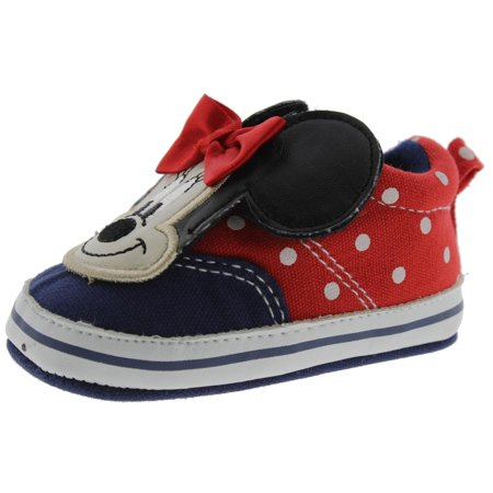 Disney Baby Minnie Mouse Polka Dot Infant Sneakers](Minnie Mouse Toddler Shoes)