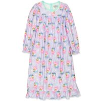 Peppa Pig Toddler Girls Flannel Granny Gown Nightgown Pajamas KY219202PP
