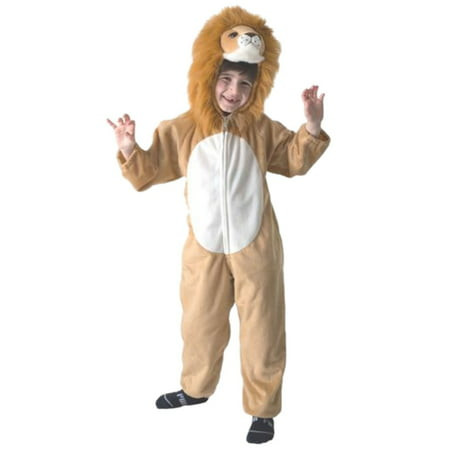 Totally Ghoul Little Boys Plush Brown Lion Costume Jumper Medium](Ghostly Ghoul Costume)