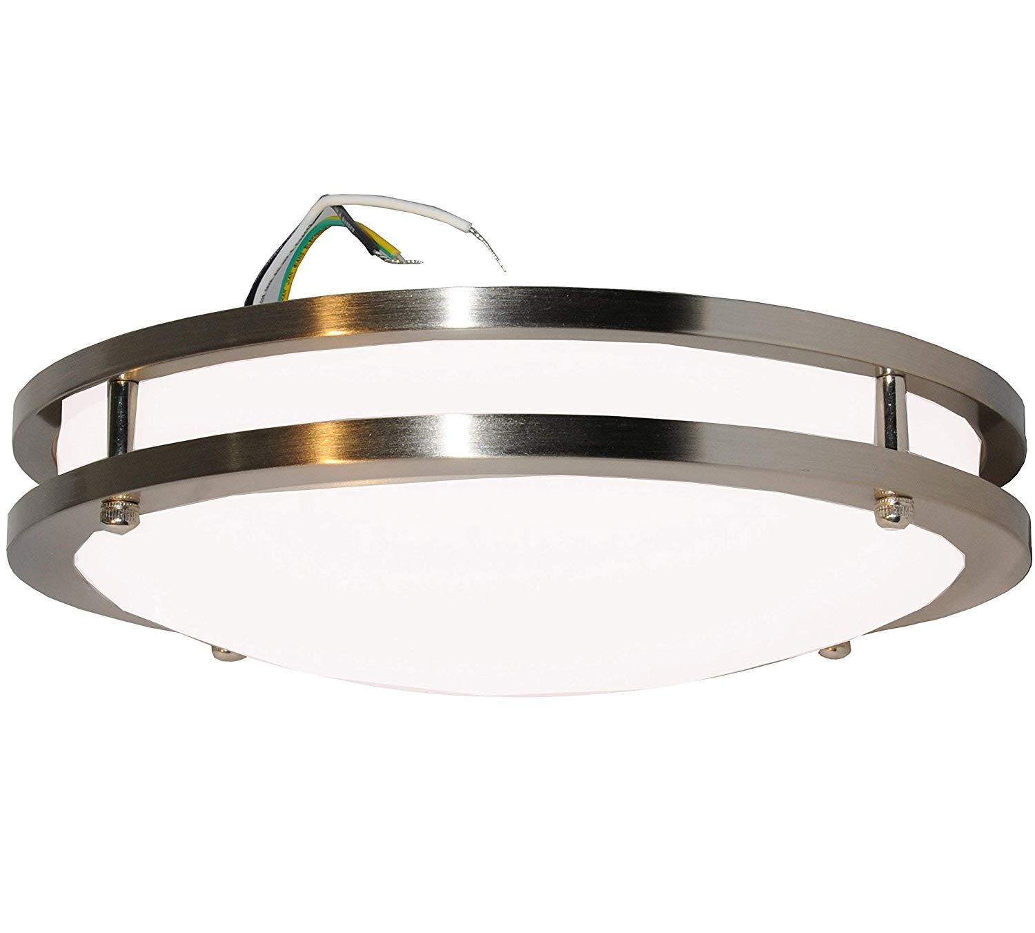 "5000K Daylight White Easy to Install 50,000 Hours Life 80/% More efficient UL /& Energy Star 14/"" inch Sleeklighting Modern Flush Mount Dimmable LED Ceiling Light Dimmable 1400 Lumens 20Watt"