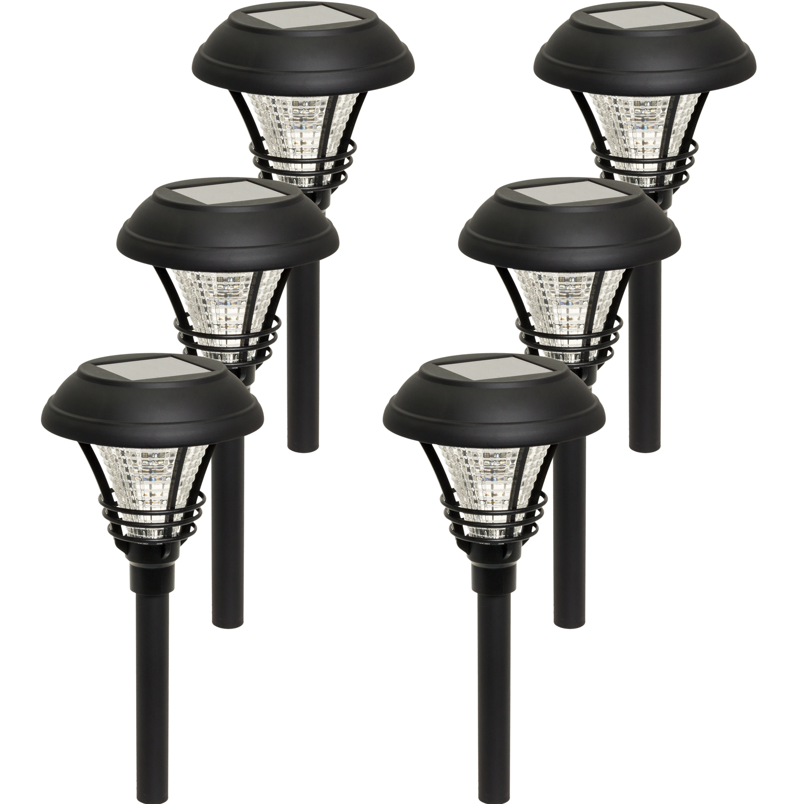 WESTINGHOUSE NEW Kenbury Solar Garden 10 Lumens LED Stake Path Lights (6 Pack)