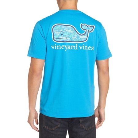 Vineyard Vines Men's Short Sleeve Fish Scales Graphic Whale Packet Tee $42.00 (XS) X-Small