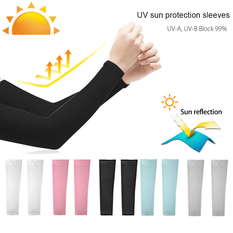 HYHACZX Captain America Arm Sunscreen Sleeve for Daily Work /& Contact Sports UV Protection Cooling Compression Sun Includes 1 Pair