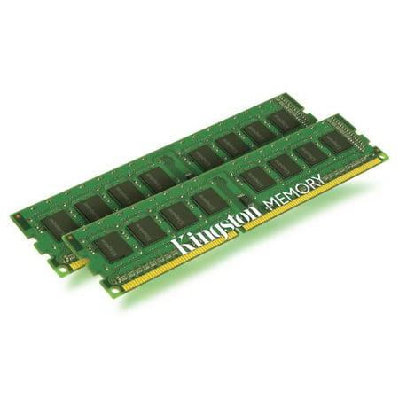 Kingston ValueRAM 4 GB Kit (2x2 GB Modules) 1333MHz PC3-1066 DDR3 DIMM Desktop Memory KVR1333D3N9K2/4G 1g Valueram Pc Memory