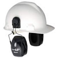 Leightning L3H, NRR 27 Earmuff Hard Hat Mount