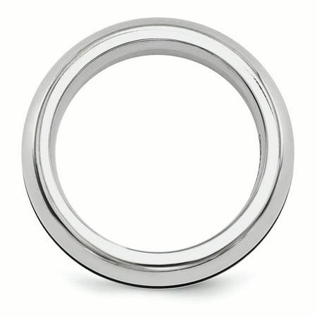 Edward Mirell Titanium Anodized 6mm Band Size 12 - image 1 de 4
