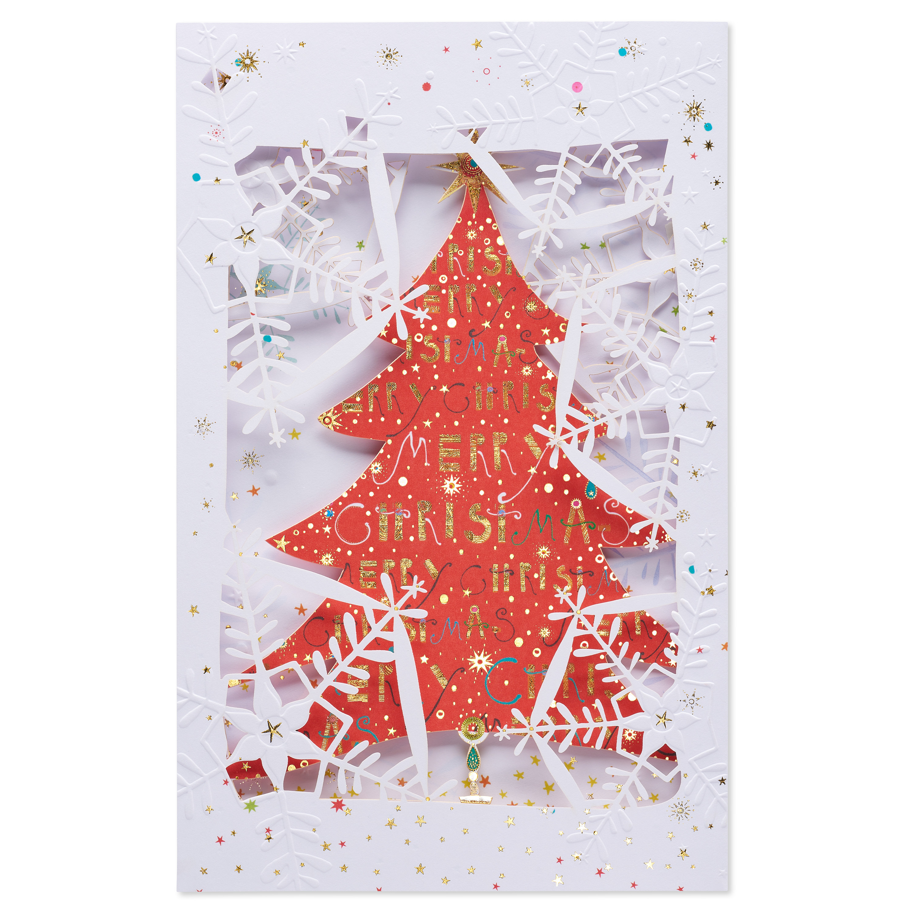 AMERICAN GREETINGS® Believing and Remembering Christmas Card with Foil