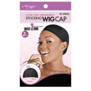 STOCKING WIG CAP (Black)