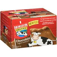 Horizon Organic Low-Fat Chocolate Milk, 8 fl oz, 12 Count
