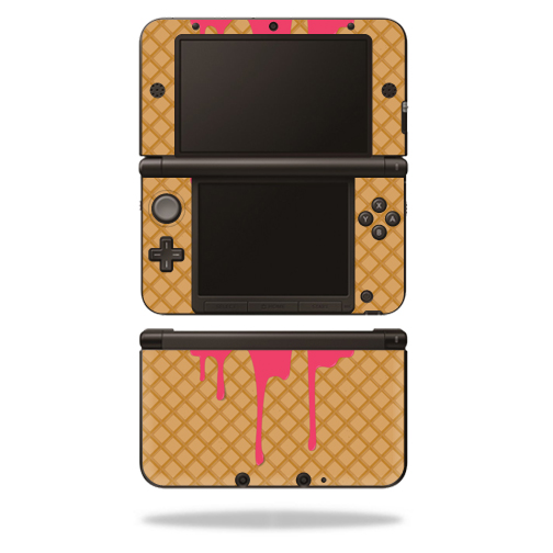 MightySkins Protective Vinyl Skin Decal Cover for Nintendo 3DS XL Original (2012-2014 Models) Sticker Wrap Skins Ice Cream Cone