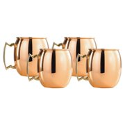 Old Dutch Solid Copper 16-ounce Moscow Mule Mugs (Set of 4)