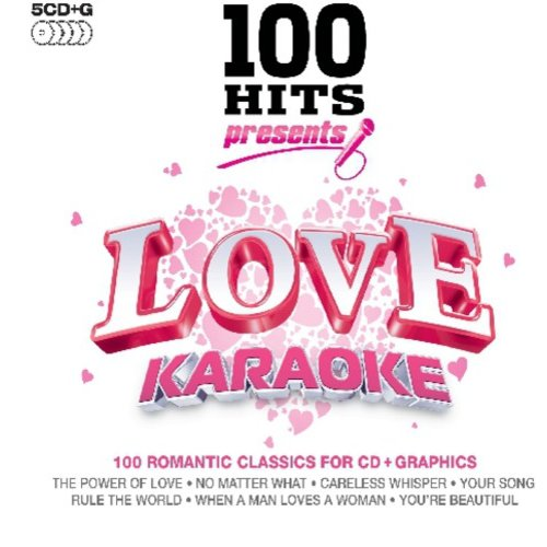 Karaoke: 100 Hits Presents Love   Various (Box) by ** What Records ***