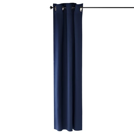 Furinno Collins Blackout Curtain 42x84 in. 1 Panel, Dark Blue ()