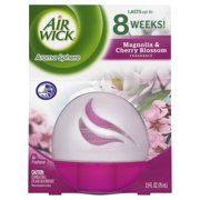 Air Wick Aroma Sphere Liquid Air Freshener, Magnolia & Cherry Blossoms Scent, 2.5 Ounces
