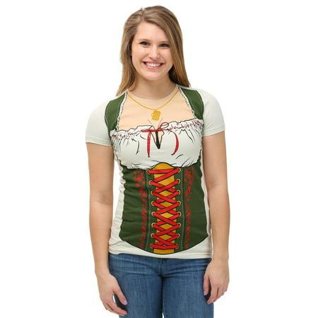 Womens Oktoberfest Fraulein T-Shirt (Oktoberfest Women)