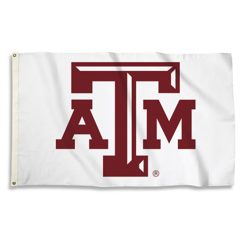 Bsi Products Inc Texas A&M Aggies Flag with Grommets Flag with Grommets
