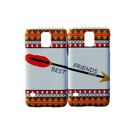 Set Of Arrow Aztec Best Friends Phone Cover For The Samsung Galaxy S4 Case For iCandy