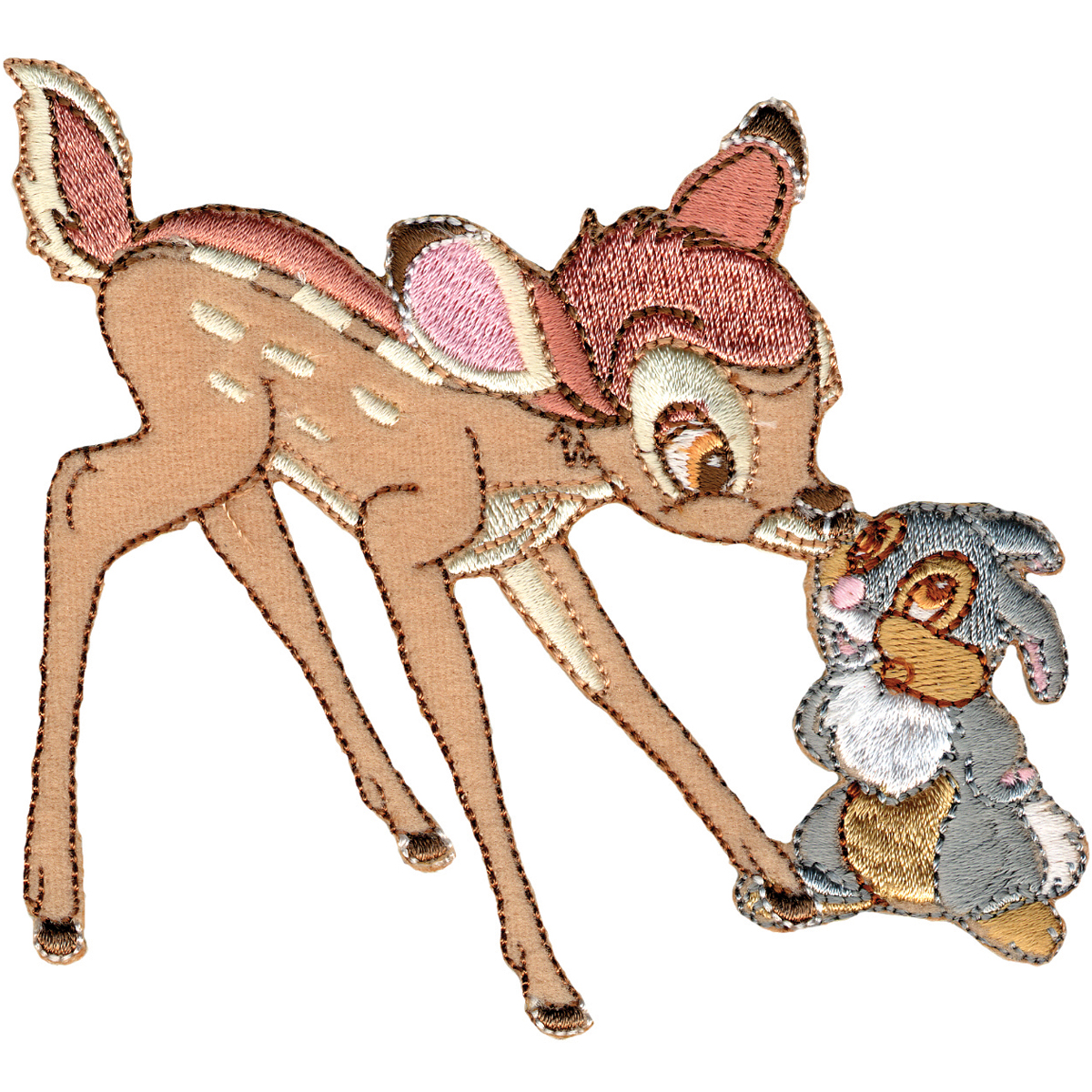 Disney Bambi Iron-On Applique-Bambi & Thumper