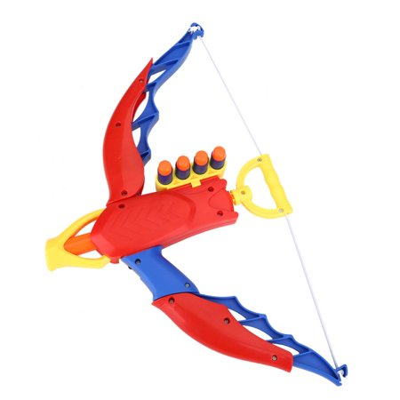 Yosoo Children Toy Archery Set Plastic Bow EVA Soft Bullets with Score Target Kids Toys, Kids Archery Gun Toys, EVA Bow Toys - Kids Toy Guns