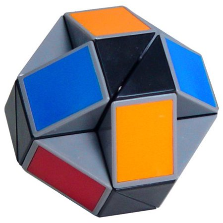 Winning Moves Rubik's Twist (Colors May Vary), 5.125 in H x 4.125 in W x 4.75 in D By Winning Moves Games