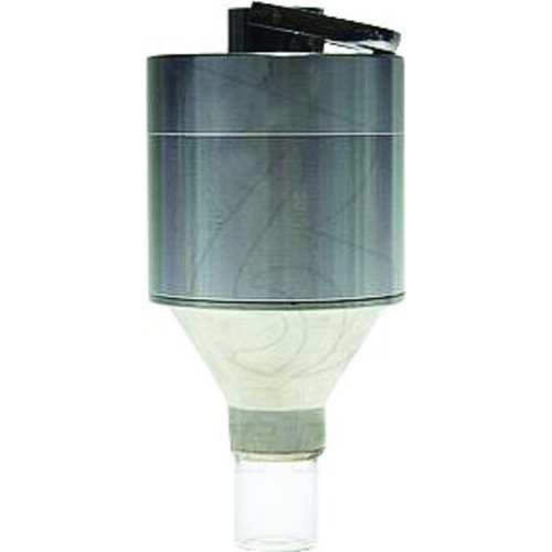 """GRINDER CYLINDER WITH CONICAL END THREADED VIAL 3"""" TALL STAINLESS PACK OF 1, GRINDER By PILL"""