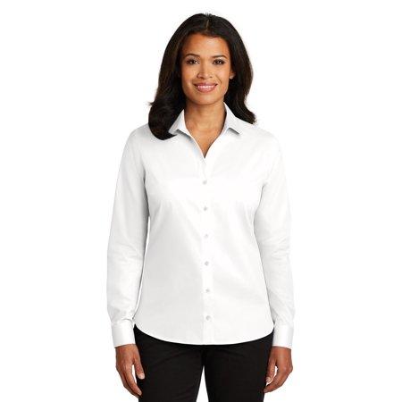 Red House® Ladies Non-Iron Twill Shirt. Rh79 White Xxl - image 1 of 1