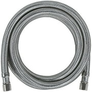 Certified Appliance Accessories LM84SS Braided Stainless Steel Ice Maker Connector, 7ft