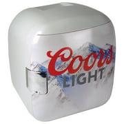 Koolatron® Coors Light® Rocky Mountain Portable 12 Can Thermoelectric Mini Fridge Cooler Warmer, 7.9 L/ 8.3 Quarts Capacity