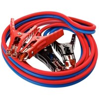 Super Heavy Duty 500 amp 6 gauge No Tangle Dual Construction Battery Booster Jumper Cables-Large for Cars Trucks Vehicles Automobiless((500 Amp 6 Gauge 12 Feet) & Travel Carry Bag