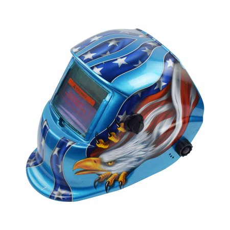 Smartasin Solar Auto Darkening Welding Helmet Arc Tig Mig Professional Mask (Best Welding Helmet Under $100)