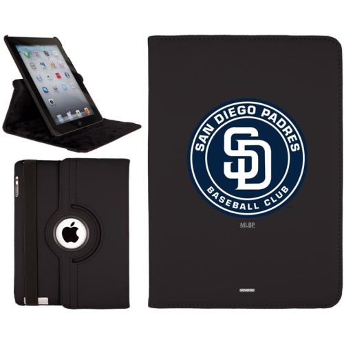 San Diego Padres iPad Air Swivel - Black - No Size