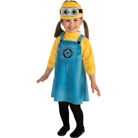 DESPICABLE ME 2 MINION ROMPER INFANT & TODDLER COSTUME - Infant Minion Costume Despicable Me