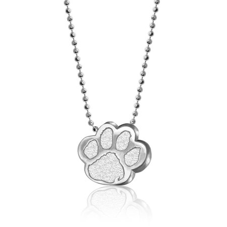 Clemson Tigers Jewelry - Clemson Tigers Alex Woo Women's Little Collegiate Sterling Silver Necklace - No Size
