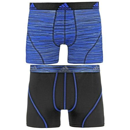 1e4aba276def adidas Men s Sport Performance Climalite Trunk Underwear (2 Pack ...