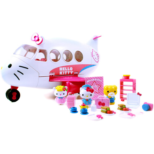 Hello Kitty Jet Plane Play Set by Generic